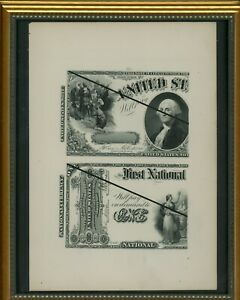 $1 ONE DOLLAR 1875 NAT'L CURRENCY (LIKE FR386) 1875 U.S. NOTE (LIKE FR26) PROOF