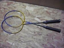 2 Old Badminton Rackets as shown
