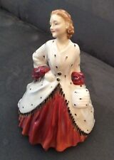 """Vintage Royal Doulton Figurine - Lady In """"The Ermine Coat"""""""
