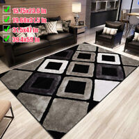 Modern Design Large Anti-Skid Rugs Soft Living Room Floor Bedroom Carpet Mat Ne