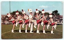 Postcard WI Green Bay Pride of Packers Pro Football Team Drum Majorettes R52