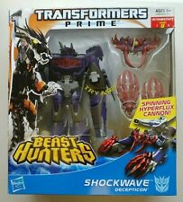 Transformers Prime Beast Hunters Decepticon SHOCKWAVE Voyager Class figure