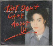 Michael Jackson CD-MAXI THEY DON'T CARE ABOUT US