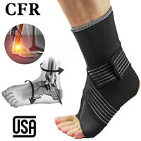 CFR Stabilizer Ankle Brace Compression Foot Wrap Pain Relief Support Sports Gym