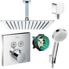 Hansgrohe Shower Select Thermostat UP Duscharmatur Set Duschteller 30x30cm