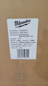 Milwaukee M18 4 Gal. Cordless Switch Tank Backpack Pesticide Sprayer 2820-20PS