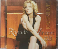 Rhonda Vincent And The Rage Ragin' Live CD Brand New Ships Free USPS Media