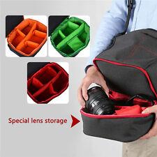 Shockproof Waterproof DSLR Camera Backpack Shoulder Bag Case for Canon PC