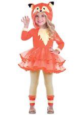 Childrens Cute Fox Girl Costume