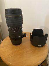 Sigma EX II HSM DG AF 70-200mm F/2.8 II HSM DG AF Lens