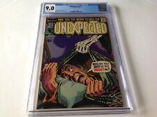 UNEXPECTED 123 CGC 9.0 SKELETON HAND COVER HORROR DC COMICS