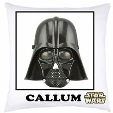 PERSONALISED CUSHION COVER STAR WARS  CHRISTMAS BIRTHDAY GIFT