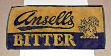 Ansells Brewery Bitter Collectable Bar Towel, unused. Real ale, beer