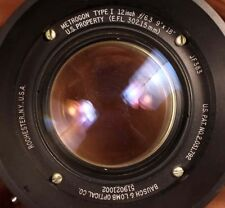 "ULF aero 9x18"" Super Wide 300mm Bausch and Lomb Metrogon f6.3 Barrel lens HUGE"