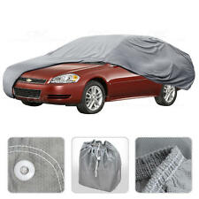 Car Cover for Chevrolet Impala 00-15 Outdoor Breathable Sun Dust Protection