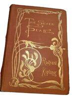 The Seven Seas (Hardcover 1897) Rudyard Kipling Poem Songs Jungle Book