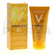 Vichy Ideal Soleil Bronze SPF 50 Tan Optimizing Hydrating Face Gel-fluid 50 Ml