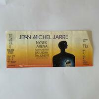 Jean Michel Jarre - Manchester Arena June 7 1997 concert ticket stub