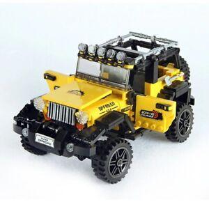 Car Adventure Bricks Set Model Series Blocks Toy Building Kids Offroad Education
