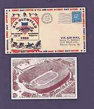 USA Olympics  Los Angeles FDC 1932 with card
