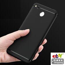With Dust Plug For *Xiaomi MI Redmi 4* Slim Soft Silicone Matte Back Cover Case