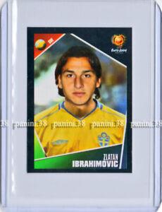 "RARE !! Sticker ZLATAN IBRAHIMOVIC ""UEFA EURO 2004"" Panini"