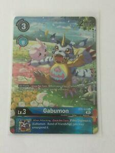 Digimon TCG  BT6-019  GABUMON   UNCOMMON  - ALTERNATIVE  ART