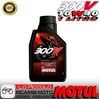 Motul 300V 4T FL Road Racing 10W-40 Moto Scooter Quad 1 LITRO 100% Sintetico
