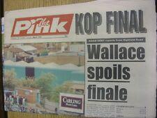 08/05/1993 COVENTRY evening Telegraph il rosa: principali titolo recita: KOP finale!