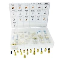 ATD 95pc Brake Line Fitting Assortment Tube Nuts, Unions, Adapters #39361