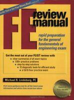 FE Civil Review Manual by Michael Lindeburg