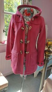 Boden girls Pink Duffle Coat New Without Tags age 13-14