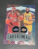 2019-20 Panini Illusions 🔥🔥Career Lineage🔥🔥 Lakers LeBron James No. 23