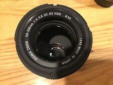 Sigma DC 50-200mm 1:4-5.6 HSM Canon EF