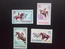 1964 - Romania - Horses , Mi. 2276 - 2279 MNH