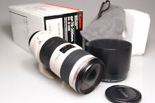CANON EF 70-200mm f:4L IS USM IMAGE STABILIZER ULTRASONIC LENS MINT