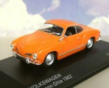 WHITEBOX DIECAST 1/43 1963 VW  VOLKSWAGEN KARMANN GHIA IN ORANGE WB064