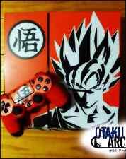 PS4 Skin - Dragon Ball Z DBZ Goku - Playstation 4 Console+2 Controllers Skin Set
