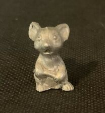 Spoontique Pewter Mouse 66 or 99 9xMini Miniature Sculpture Shadow Box Figurine