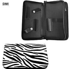 PROFESSIONAL DMI ZEBRA TOOL BAG SCISSORS CASE PERFECT FOR SALONS/HAIRDRESSERS