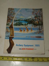 Vintage 1965 Ben Pearson Archery Catalog Bows arrows Equipment