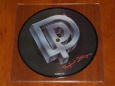 "DEEP PURPLE PERFECT STRANGERS 7"" PICTURE DISC VINYL *LTD* UK PRESS POLYDOR 1985"