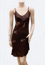 Robe Tunique ROSE DEAR T 36 / 38 S / M Sequins dorés Perles Fête Tunic Dress TBE