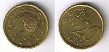 EURO(14) ZWANZIG-Cent-Münze 0,20 €  SPANIEN 2001  Umlauf-Geldbörsenqualität Coin