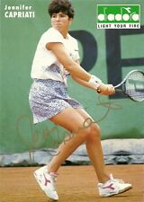 Jennifer Capriati signed Diadoro picture Tennis