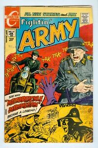Fightin' Army #101 January 1972 VG Motorsickle Monhegan