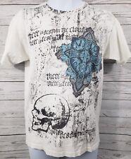 Urban Legends Men Sz Medium Scull and Cross/Shield Short Sleeve T-Shirt