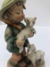 """Goebel Hummel Figurine SHEPHERD'S BOY  #64 TMK2 5 1/4"""" H"""