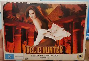 Relic Hunter: The Complete Collection - Season 1-3 - Collector's Box - Rare - R4