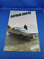 DATSUN 200 SX CAR DEALERSHIP ADVERTISING BROCHURE SPECIFICATIONS NISSAN CANADA